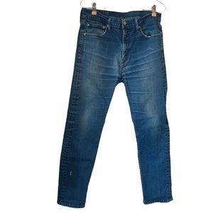Levi's Skinny Denim Jeans 510 32Waist Cotton Blend